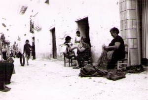 Escenas de Caspe, años 70  (Autor: Alejo Lorén)