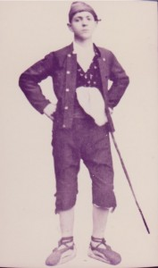 Un caspolino del siglo XIX    (Archivo Gráfico AGG)