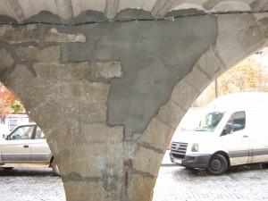 Lamentable aspecto de un rincón emblemático