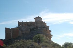 Santuario de la Magdalena, aislado y condenado