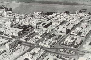 Años 70. Vista aérea de El Aaiún