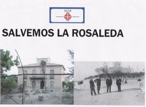 pancarta rosaleda