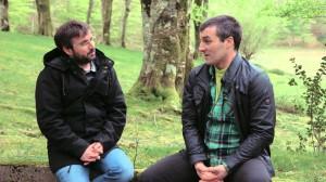 Jordi Évole entrevistando a Iñaki Rekalde