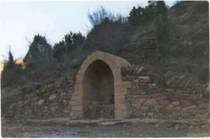 Villarroya de los Pinares. Lugar donde nace el Guadalope.
